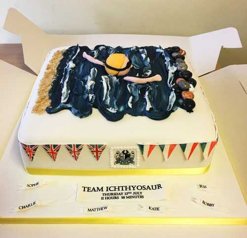 Celebration Cake at Street & District Annual Club Awards Night